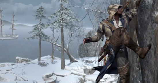Assassin's Creed 3 Frontier Wall Climbing