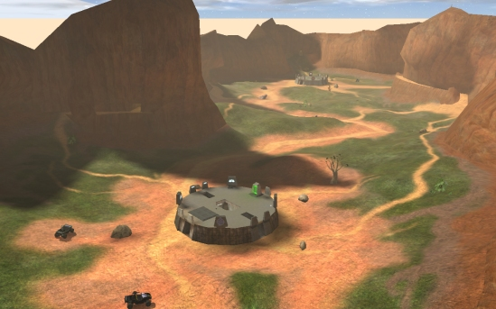 Halo: Combat Evolved Blood Gulch Graphics