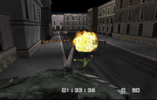 Goldeneye 007 Tank Streets