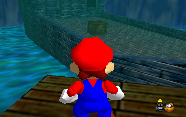 Pirates are (not) cool!  Super-mario-64-jolly-roger-bay-ship1