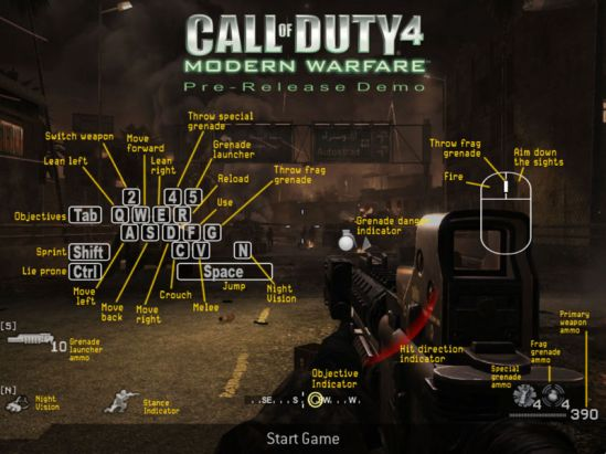 Call of Duty HUD