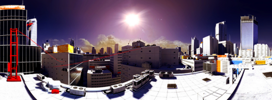Mirrors Edge Landscape